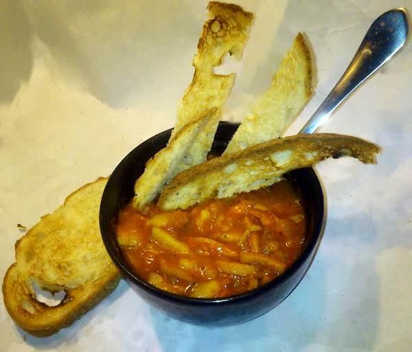 Tomato-potato Ah, Boloney Stew. Recipe