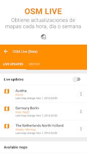 OsmAnd+ Mapas y Navegación 8