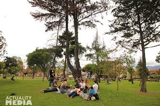 Photo: Picnic in Parque del Madre!