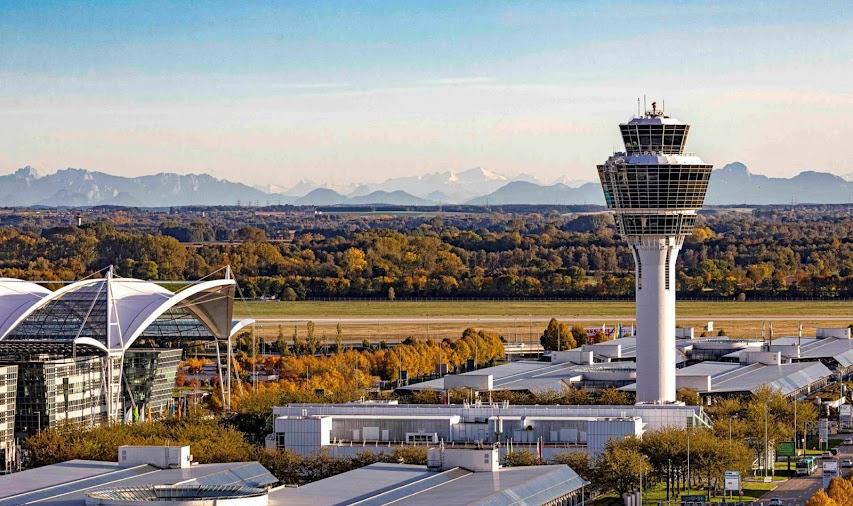 1) Munich international Airport, Germany (MUC)