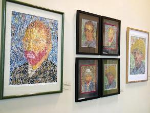 Photo: 4-21-13 Les Art exhibit at Weissman Ctr