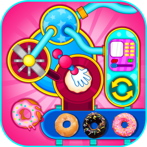 Donut Make Factory Icon