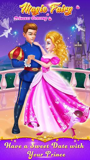 ud83cudf39ud83eudd34Magic Fairy Princess Dressup - Love Story Game 2.1.5000 screenshots 8