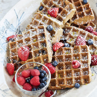 OATrageous Book Sale TODAY ONLY and Gluten-Free Lemon Blueberry Belgian Waffles