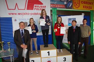 Photo: Mistrzostwa Polski LOK Tarnów (01.06) P. Iwaniuk (IIc) brązowy medal w konkurencji ksp 3x10.