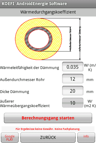 android Warmwasser Zirkulation Screenshot 3