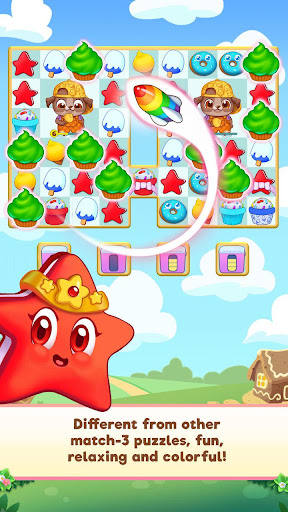 Candy Riddles: Free Match 3 Puzzle screenshots 1