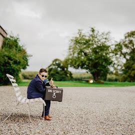 ID you think you have a tough job :D  by Kaspars Sarovarcenko - Wedding Other ( wedding photography, wedding photographer, weddings, page boy, wedding photographers, wedding )