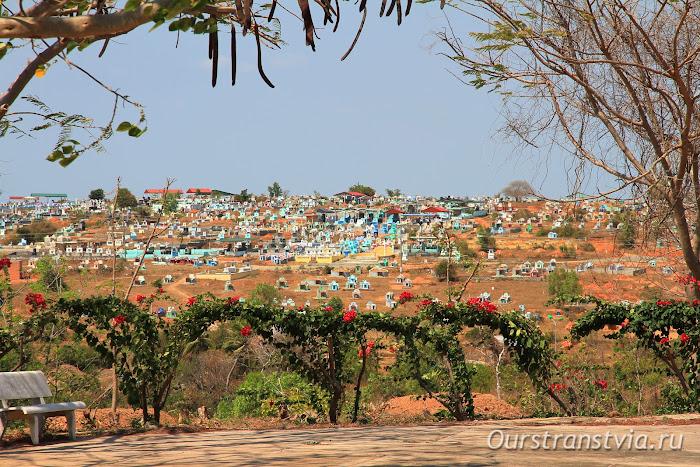 Кладбище Фантьета, Вьетнам