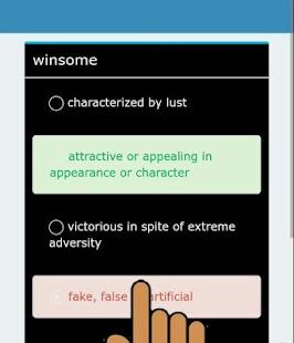 SAT vocabulary Words Lite - náhled