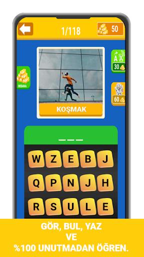 Resimlerle İngilizce Öğrenme Oyunu screenshot 4