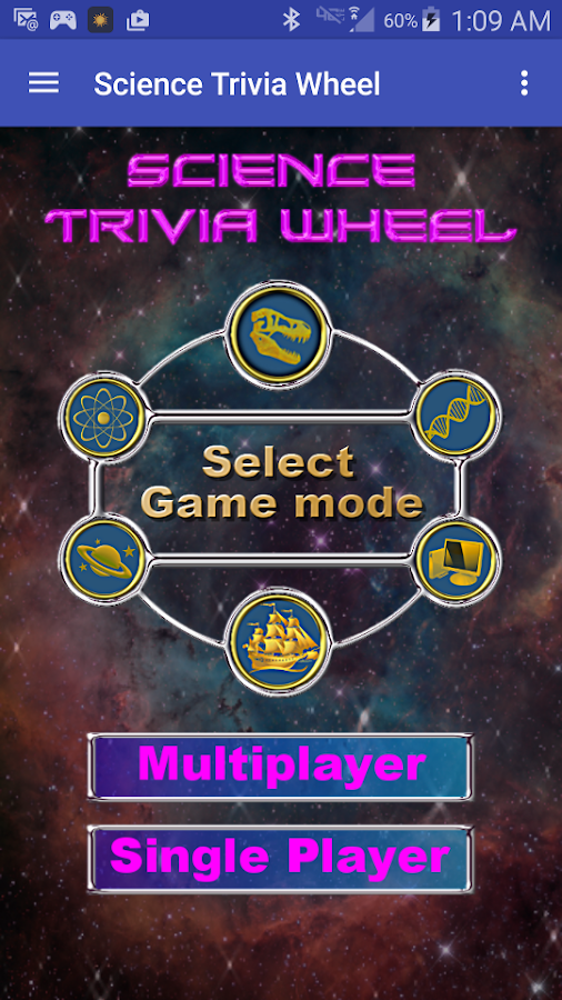 Science Trivia Wheel- screenshot