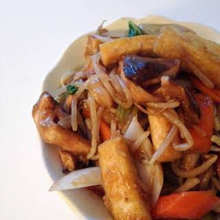 Tofu Chop Suey.