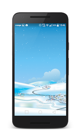android Winter Live Wallpaper Screenshot 0