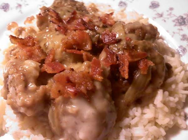 Creamed Chicken Livers Recipe