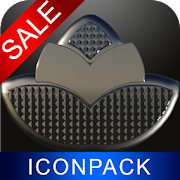 Iron Steel HD Icon Pack