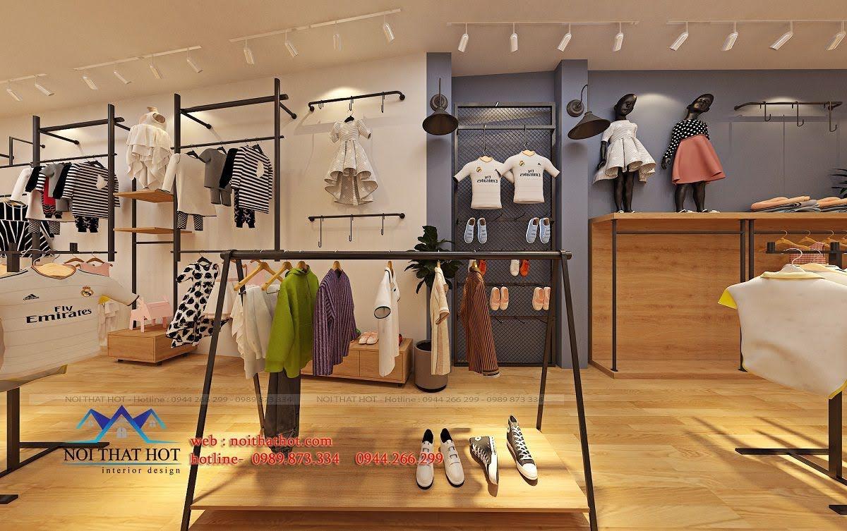 thiết kế shop thời trang trẻ em 24.baby 7