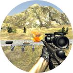 Military Sniper : Traffic Icon