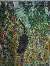 Photo: Hamish the Cat Oil 90cmx90cm $300