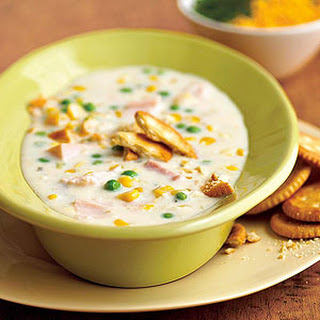 Corn Chowder.