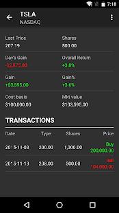 Stocks - Realtime Stock Quotes- screenshot thumbnail
