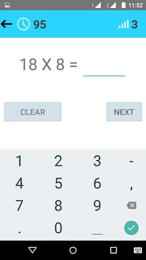 Download Math Tables & Exam (1 - 100) Google Play softwares
