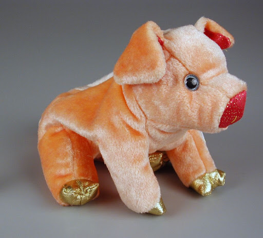 Stuffed animal:The Ty Zodiac Collection: Pig