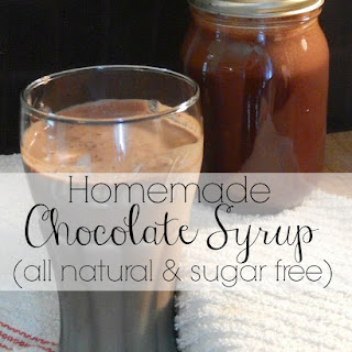 Homemade Chocolate Syrup (Sugar free and All Natural!)