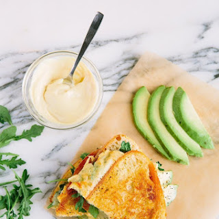 Muenster and Avocado Grilled Cheese