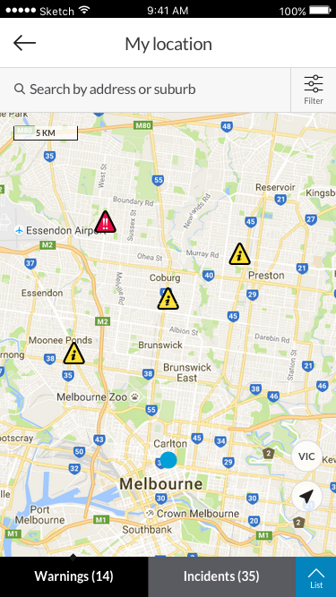 VicEmergency- screenshot