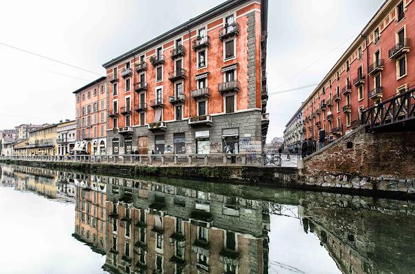 Alzaia Naviglio Grande, Milano di davide fantasia