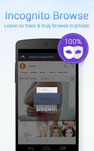 Dolphin Zero Incognito Browser screenshot 2