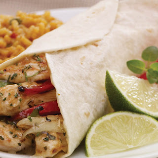 Southwest Garlic-Lime Chicken Fajitas