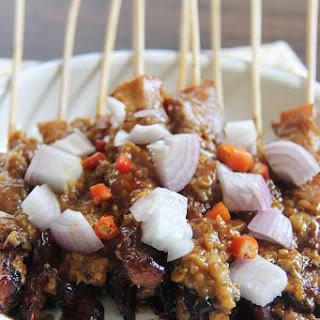 Grilled Chicken Skewers (Sate Ayam Madura)