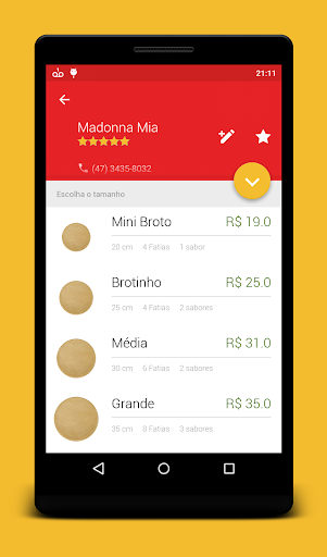 iGo Pizzas app (apk) free download for Android/PC/Windows screenshot