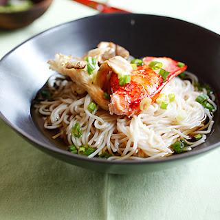 Lobster and Mushroom Somen Recipe