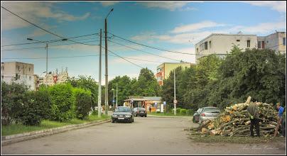 Photo: Aprovizionare cu busteni pentru centrala - 2017.06.17