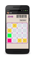 2048 Puzzle PRO(No Ads) APK screenshot thumbnail 2