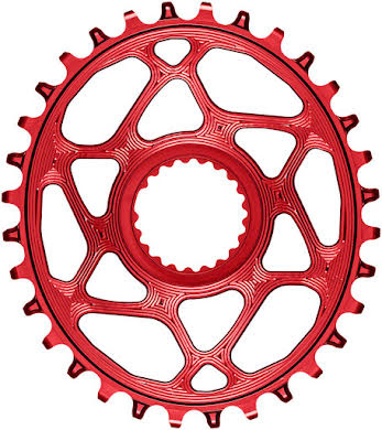 Absolute Black Oval Direct Mount Chainring - Shimano Direct Mount, 3mm Offset, Requires Hyperglide+ Chain alternate image 7