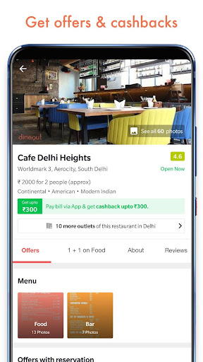 Dineout: Restaurant Booking, Reviews & Food Deals  screenshots 4