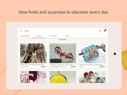 Etsy: Handmade & Vintage Goods- screenshot thumbnail