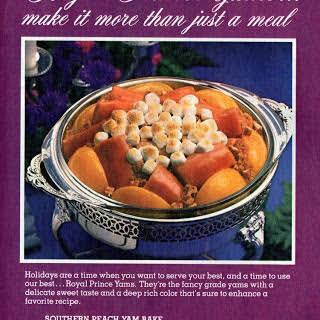 Southern Peach Yam Bake (1979).
