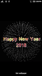 New Year 2018 Live Wallpapers - náhled