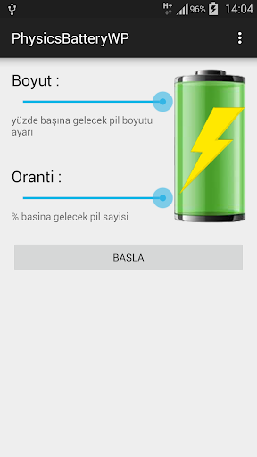 Physics Battery Wallpeper