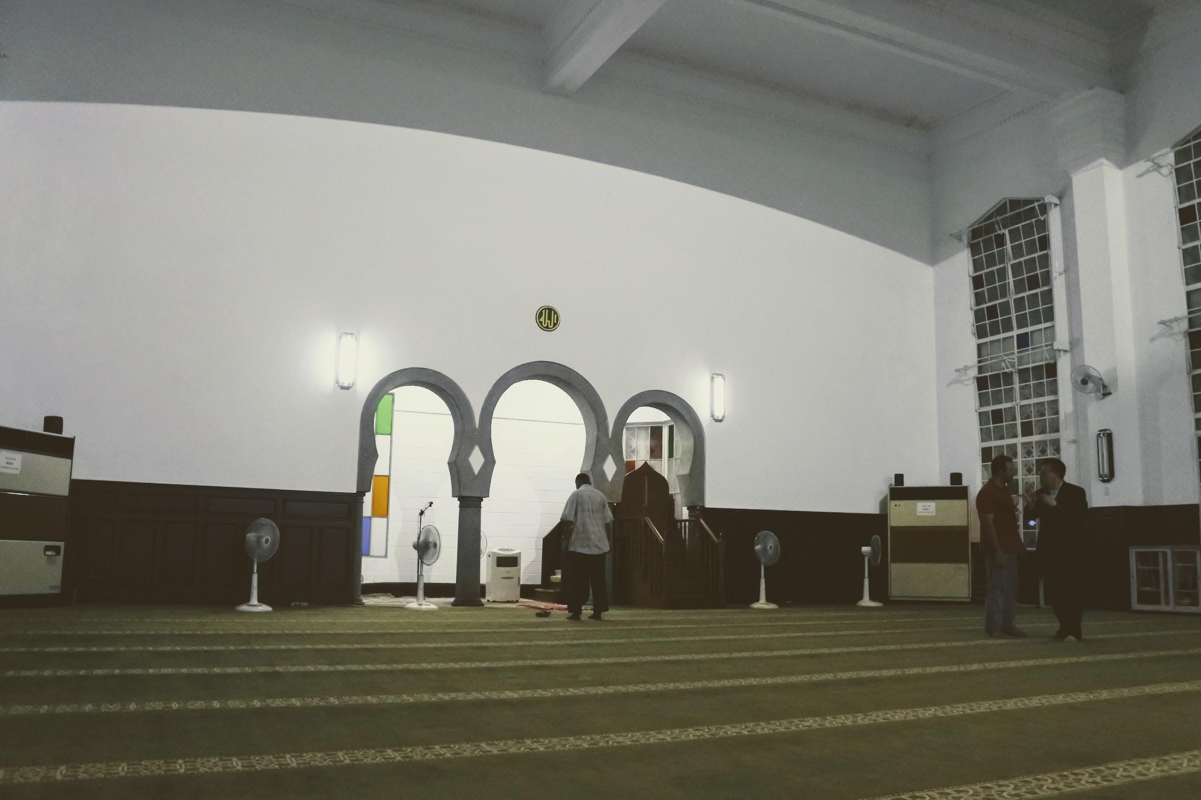 Inside Taipei Grand Mosque