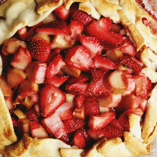 Rustic Strawberry Rhubarb Tart