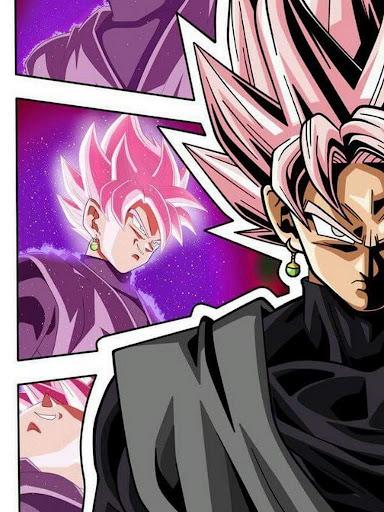 Descargar Black Goku Rose Wallpaper Google Play Apps