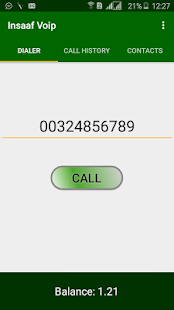Insaaf Voip screenshot