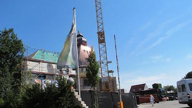 Photo: Hier entsteht der schiefe Turm von Pisa