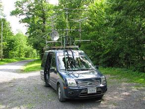 Photo: K8GP / Rover - FM09WX (looking S) - ARRL June VHF 2014